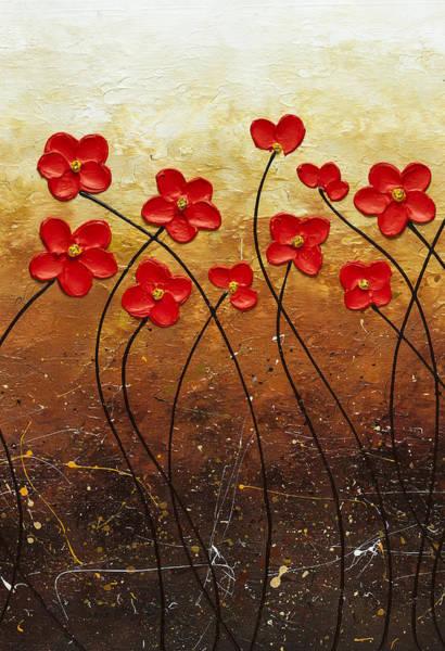 Painting - Flores De Mi Jardin 2 by Carmen Guedez