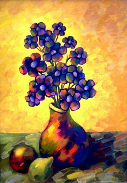 Conceptualism Painting - Flores Muertas by Miguel Suarez-Pierra