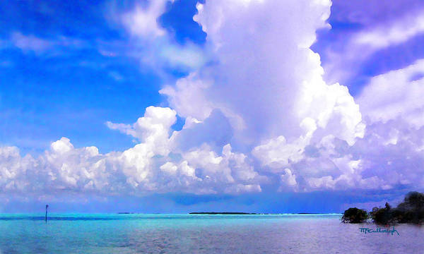 Photograph - Florida Bay At Shell Pass Filtered by Duane McCullough