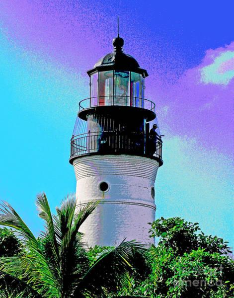 Photograph - Florida Keys Lighthouse by Larry Oskin