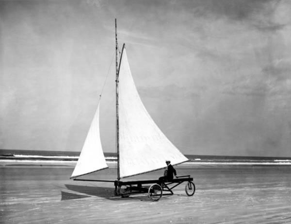 Ormond Photograph - Florida Land Sailing by Granger