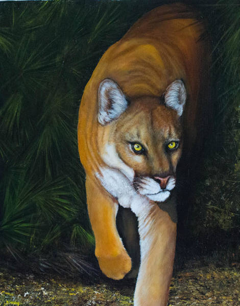 Painting - Florida Native by Nancy Lauby