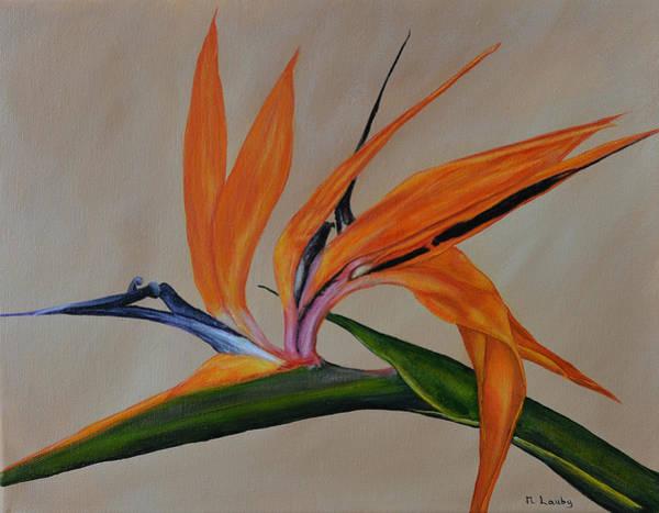 Painting - Florida Orange Bird by Nancy Lauby