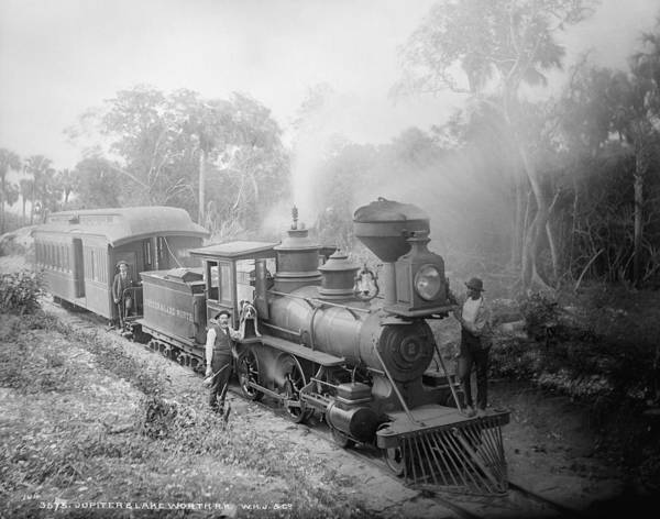 Wall Art - Photograph - Florida Railroad, C1884 by Granger