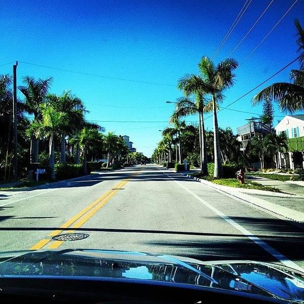 Sunny Photograph - Florida Drive by Jonathan Keane