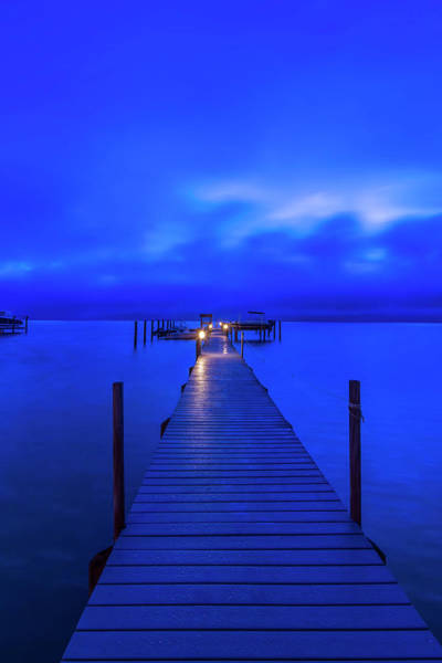 Wall Art - Photograph - Florida, Sanibel, Private Dock At Dawn by Rob Tilley