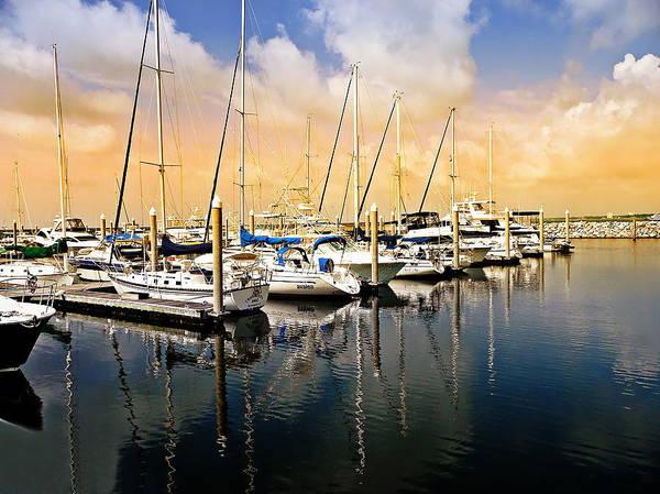 Photograph - Florida Seascape by Anthony Dezenzio