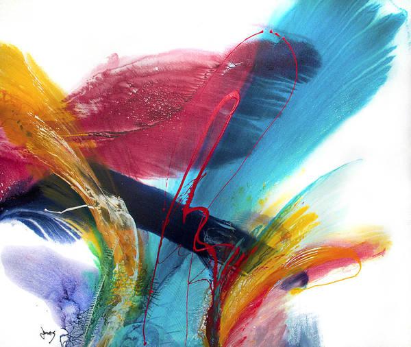 Wall Art - Painting - Flourish II by Jonas Gerard