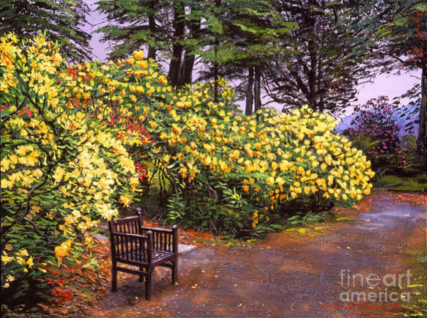 Painting - Flourishing Garden by David Lloyd Glover