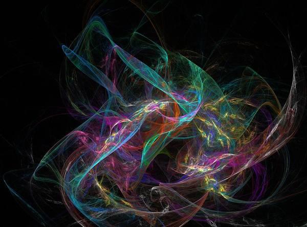 Growing Up Digital Art - Flourishing by Barroa Artworks