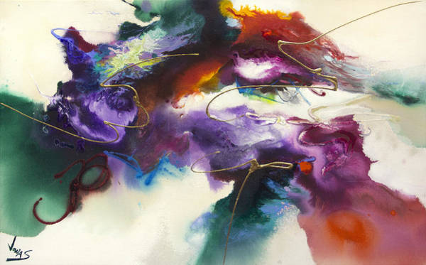 Wall Art - Painting - Flow #175 by Jonas Gerard
