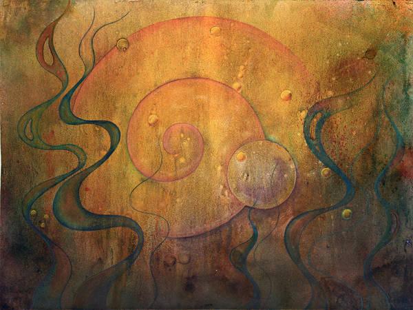 Wall Art - Painting - Flow #3 by Ellen Starr