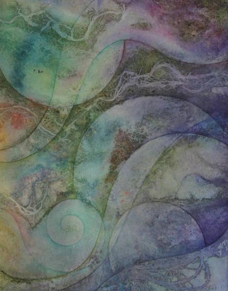 Wall Art - Painting - Flow 6 by Ellen Starr
