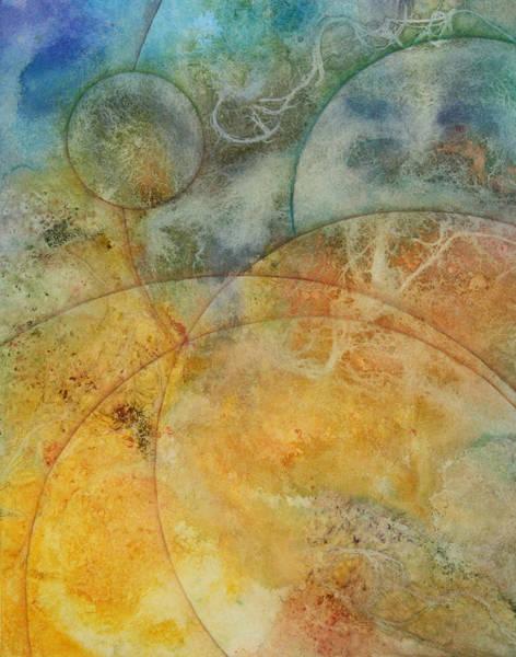 Wall Art - Painting - Flow 6a by Ellen Starr