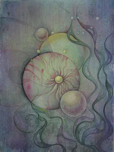 Wall Art - Painting - Flow #8 by Ellen Starr