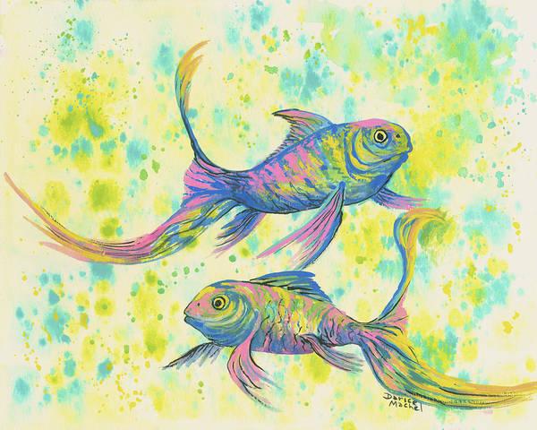 Painting - Flow And Nan by Darice Machel McGuire
