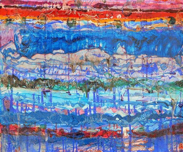 Painting - Flow Instability by Regina Valluzzi