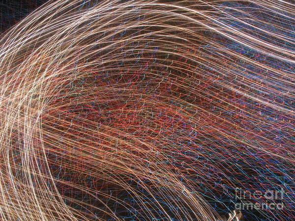 Flow Of Light 1 Art Print
