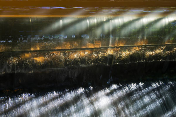 Photograph - Flow Over The Weir by Pete Hemington