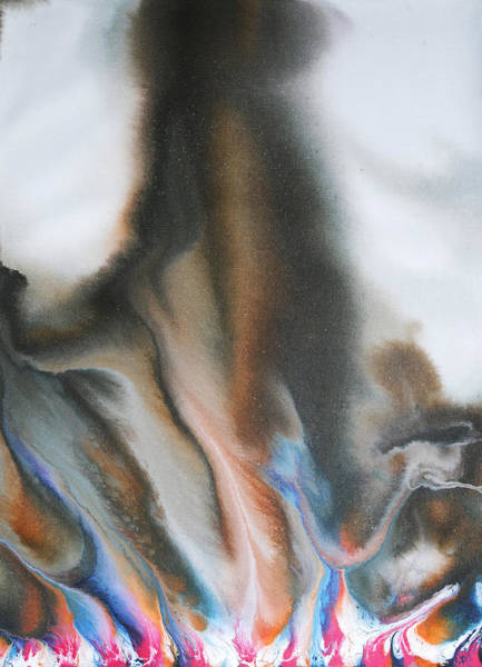 Conceptual Wall Art - Painting - Flow Series 1 by Sumit Mehndiratta