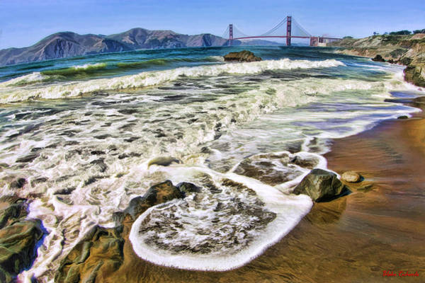 Photograph - Flow To The Golden Gate Bridge by Blake Richards