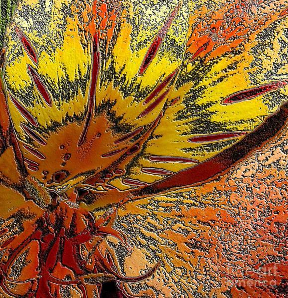 Digital Art - Abstract Autumn by Oksana Semenchenko