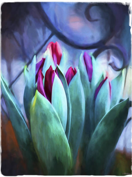 Painting - Flower Art - Life Is Like A Garden by Jordan Blackstone