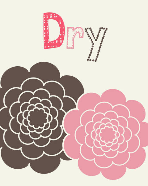Bath Room Wall Art - Painting - Flower Dry by Tamara Robinson