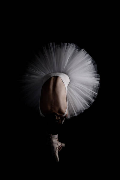 Ballerina Photograph - Flower by Eugenio Cini