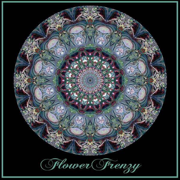 Digital Art - Flower Frenzy No 8 by Charmaine Zoe