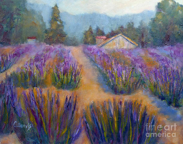 Painting - Flower Garden by Carolyn Jarvis