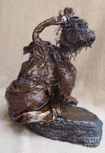 Sculpture - Flower Girl - 2nd Photo by Vivian Martin
