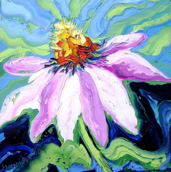 Painting - Flower by Isabelle Gervais