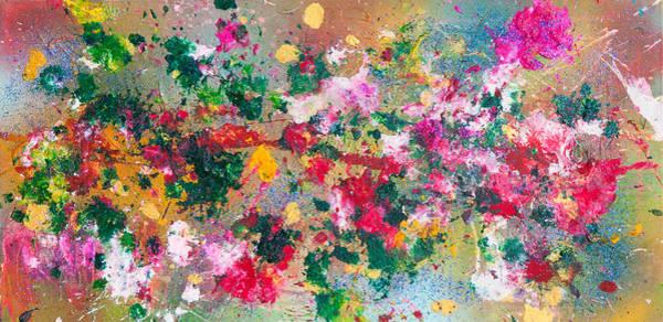 Painting - Flower Kaleidoscop by Maria Lankina