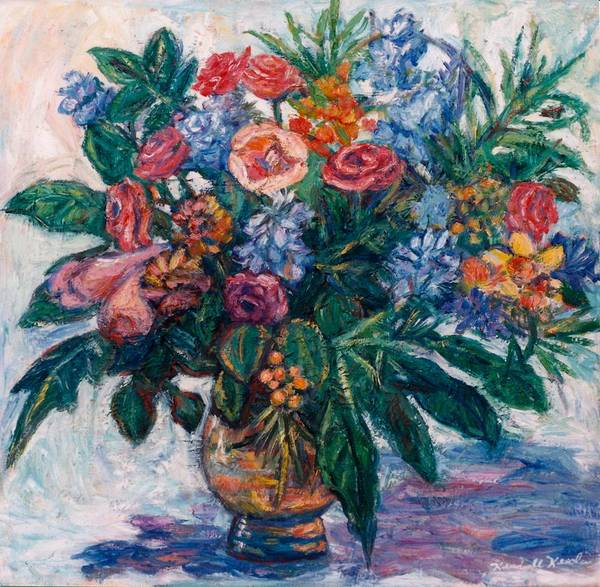 Painting - Flower Life by Kendall Kessler