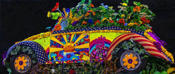 Wall Art - Photograph - Flower Love Bug by Garry Gay