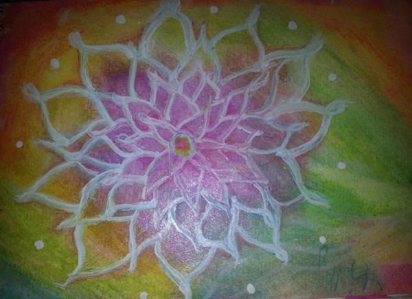 Painting - Flower Mandala by Kelly Dallas