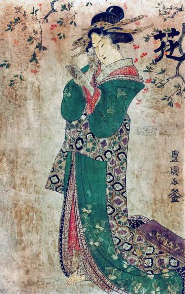 Wall Art - Photograph - Flower Of Japan C. 1804 by Daniel Hagerman