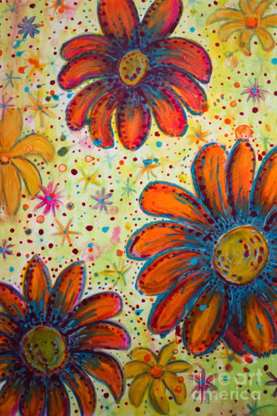 Painting - Flower Power by Jacqueline Athmann