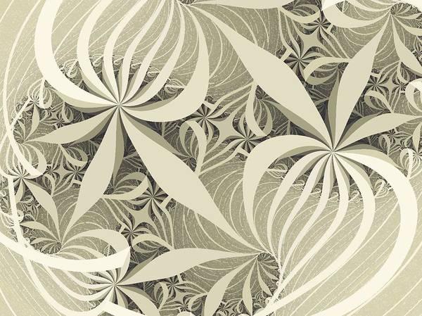 Whirl Digital Art - Flower Swirl by Anastasiya Malakhova