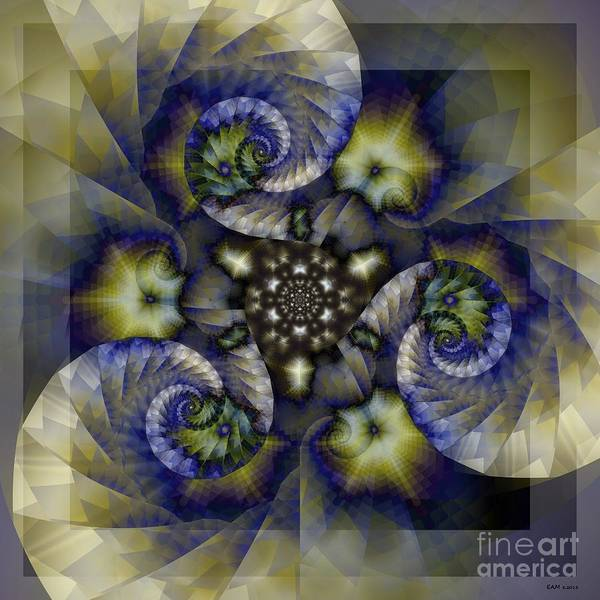 Imagery Digital Art - Flower Trance by Elizabeth McTaggart