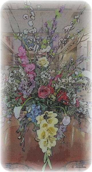 Snap Dragons Wall Art - Photograph - Flower Vignette by Cathy Jourdan