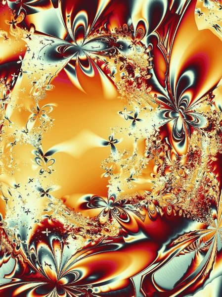 Digital Art - Flower Vortex by Anastasiya Malakhova