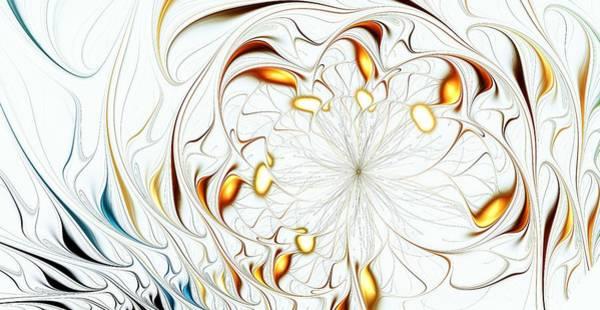 Digital Art - Flower Waves by Anastasiya Malakhova
