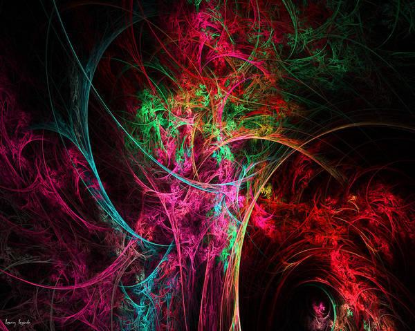 Digital Art - Flowerful Vase by Lourry Legarde