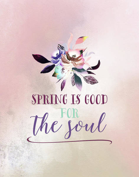 Wall Art - Painting - Flowers Are Good For The Soul by Tara Moss
