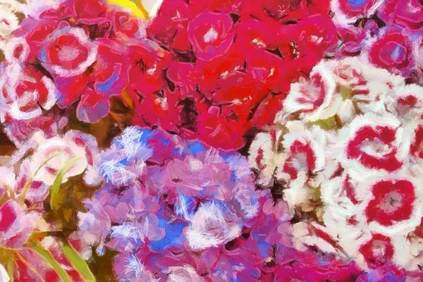 Wall Art - Painting - Flowers  by Dan Sproul