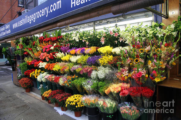Photograph - Flowers For Sale by Steven Spak