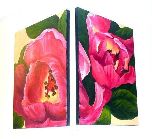 Wall Art - Painting - Flowers by Lauren  Pecor