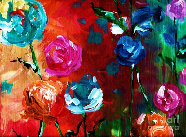 Painting - Flowers by Lisa Owen-Lynch